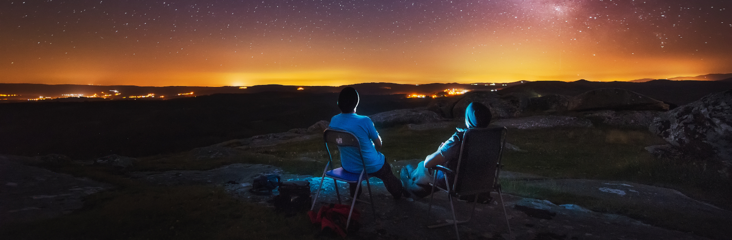 Watching The Milky Way