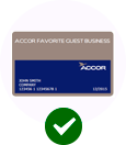 tarjeta Accor favorite guest business